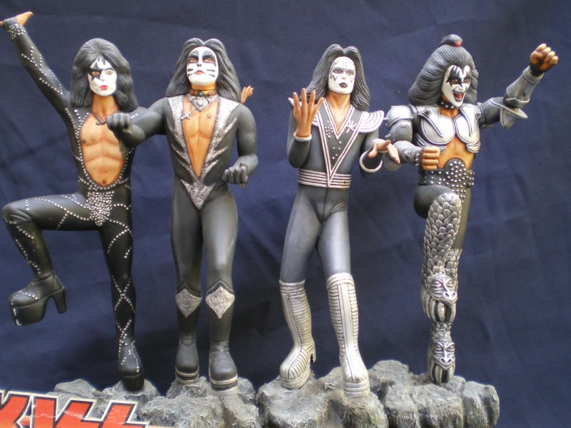 Le Groupe KISS.
