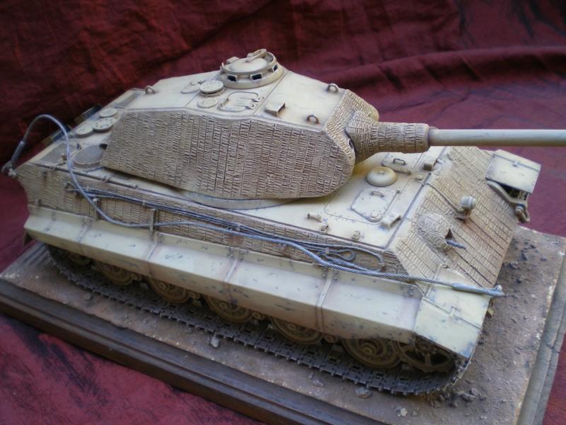 Prototype Tigre II 1/35.