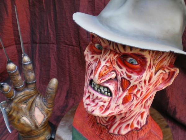 Buste Freddy Krueger.