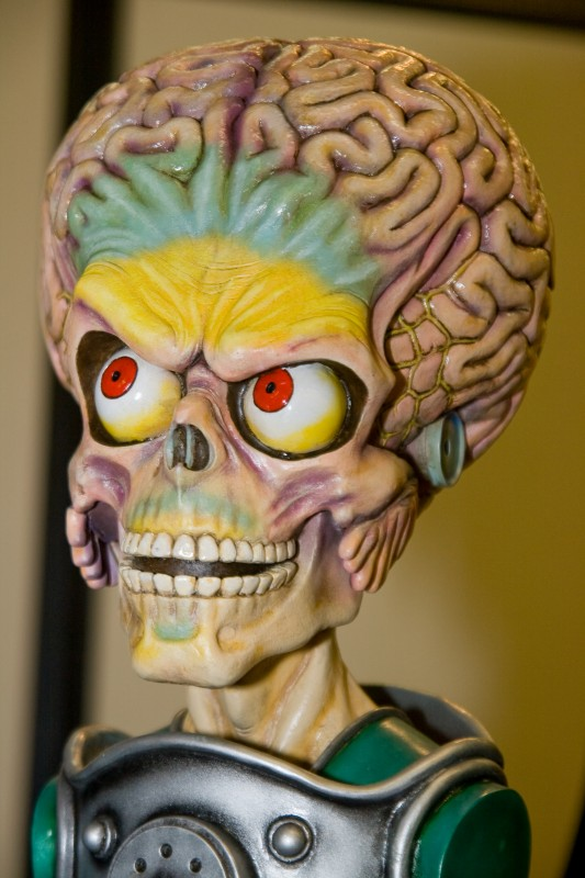 Buste Mars Attacks.