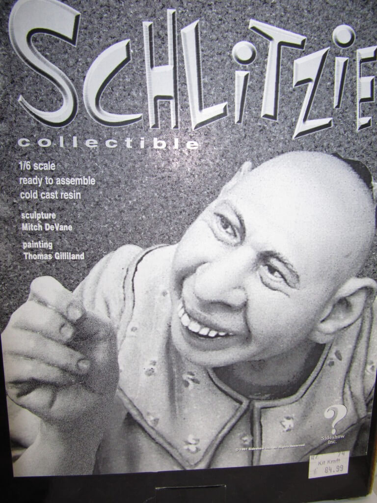 Model kit Schlitzie.