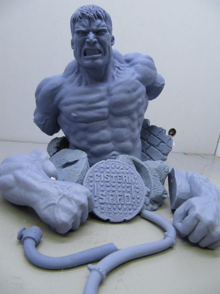 Buste Hulk 1/6.