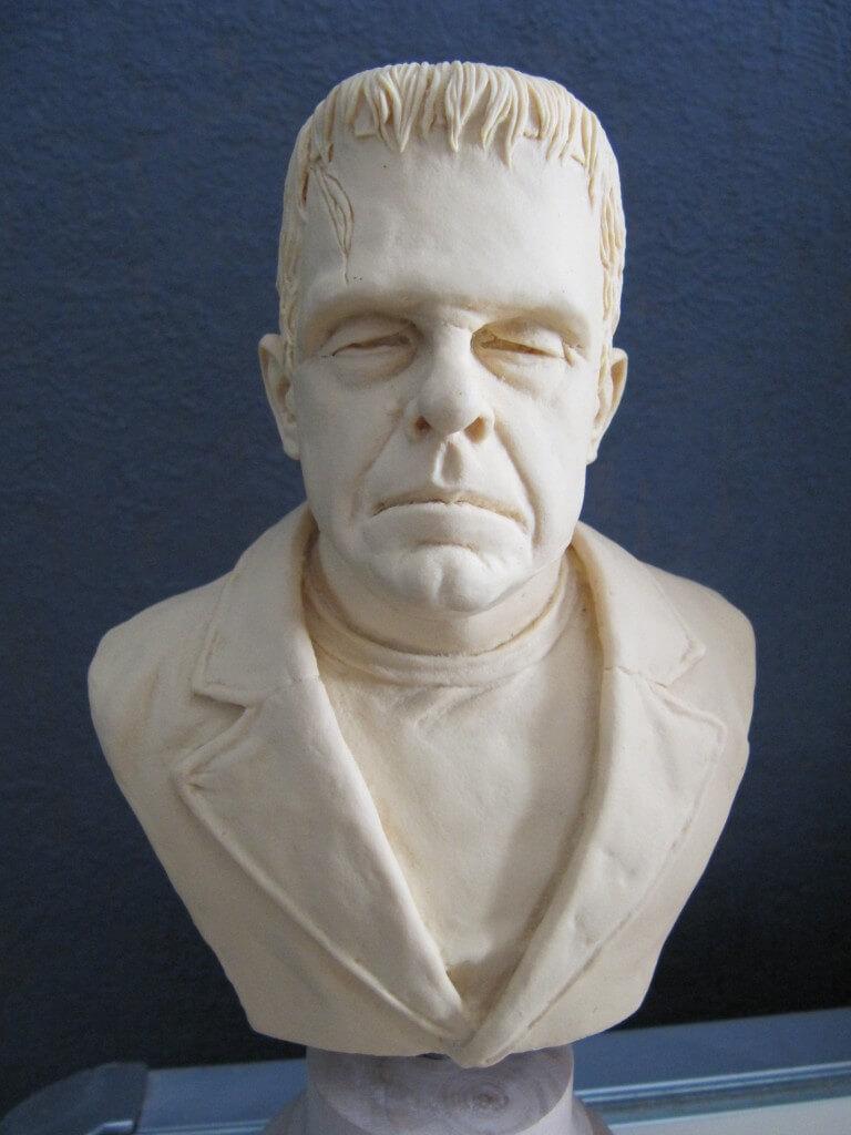 Buste Frankenstein 1/4.
