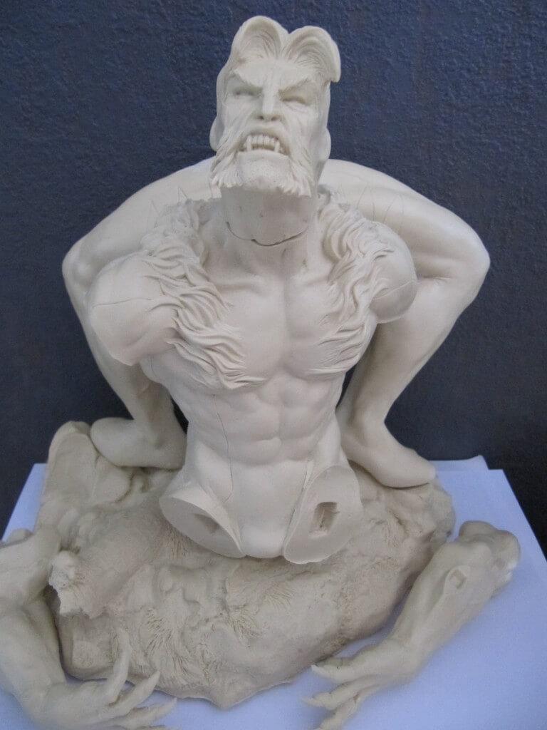 Statue Sabretooth 1/6.
