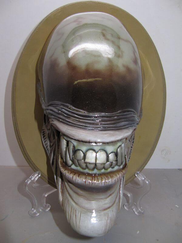 Tête Alien 1/2.