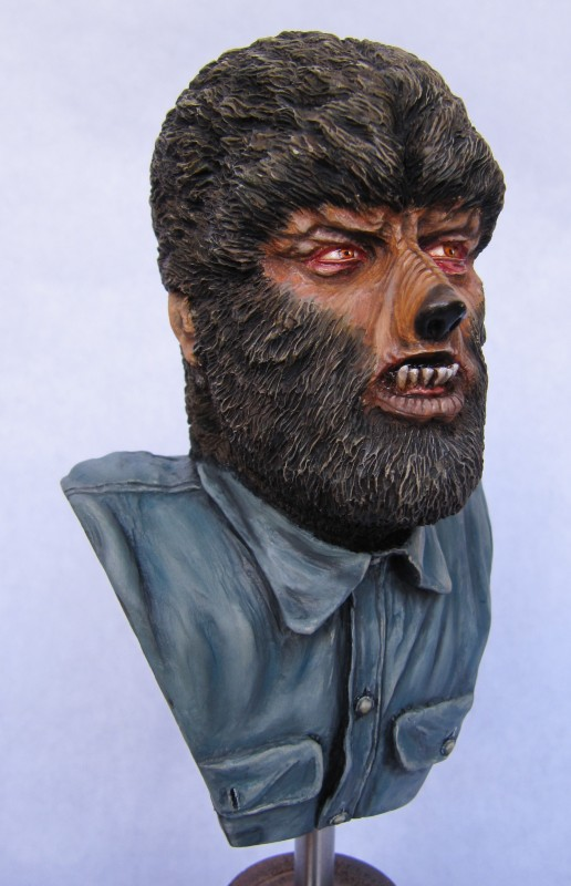 Buste Wolfman 1/4.