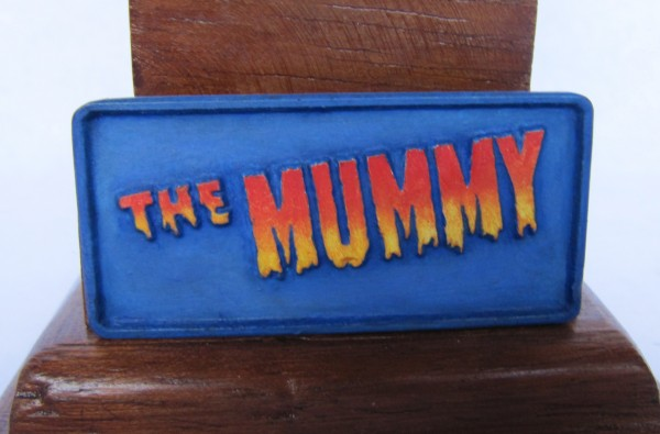 Buste the Mummy 1/4.