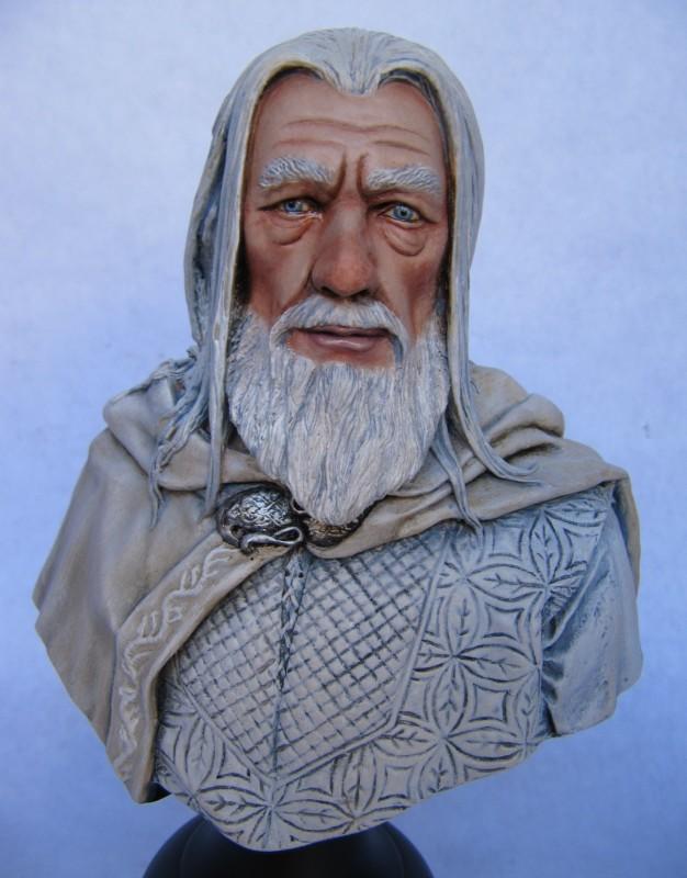 Buste Gandalf le Blanc.