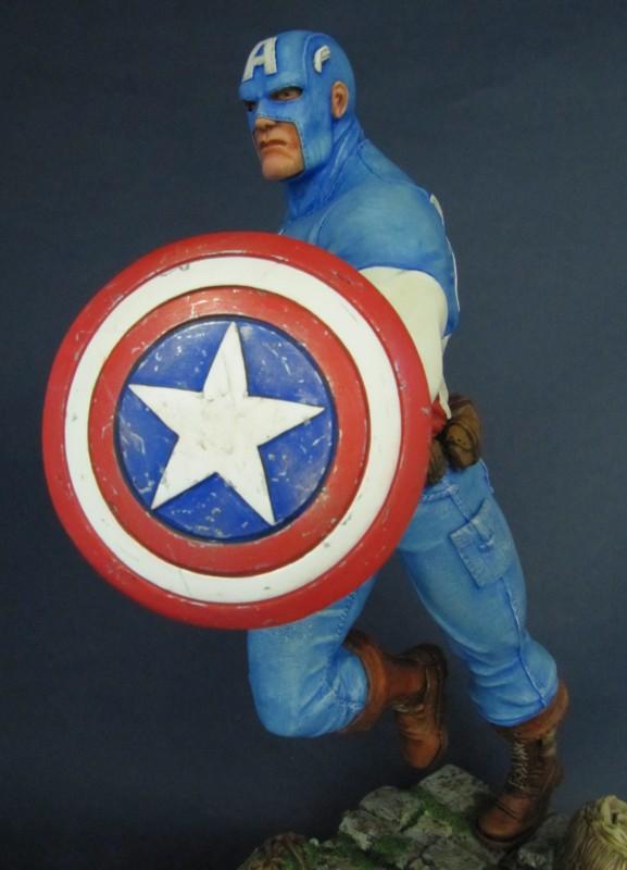 Statue Captain América 1/6.