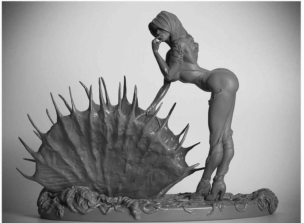 Statue Poison Ivy 1/6.