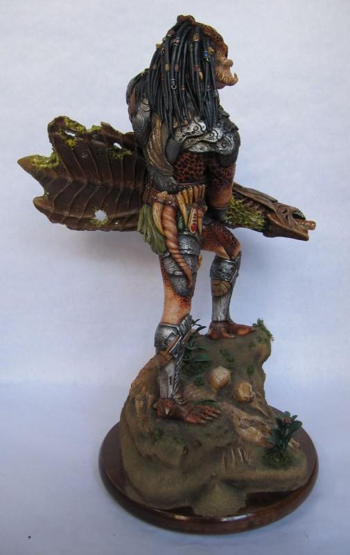 Prédator+Trophy Alien.