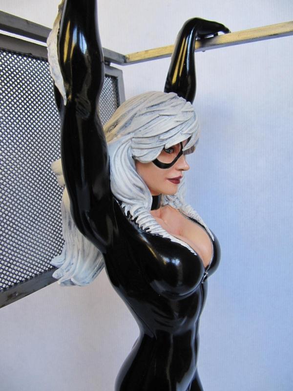 Black Cat Comiquette Sideshow.