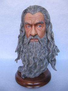 Buste Gandalf 1/2.