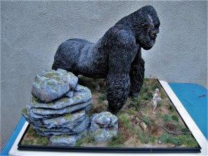 Diorama King Kong.