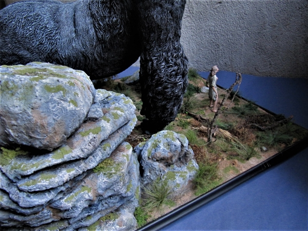 diorama king kong