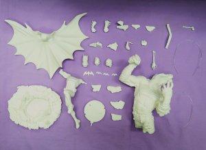 Batman Vs Killercroc model kit 1/8.