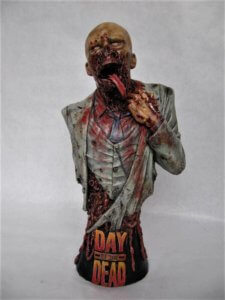 Buste Zombie Day of the Dead 1/4.