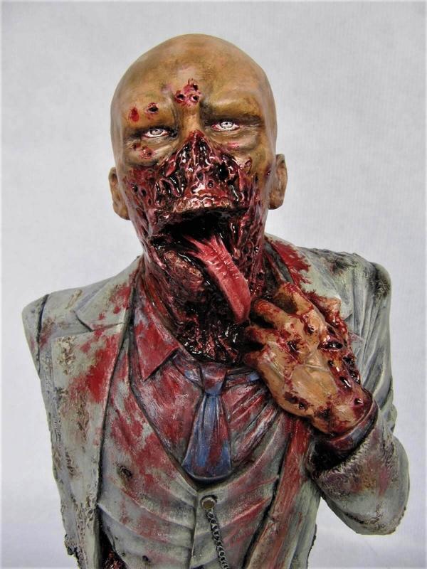 Buste Zombie 1/4