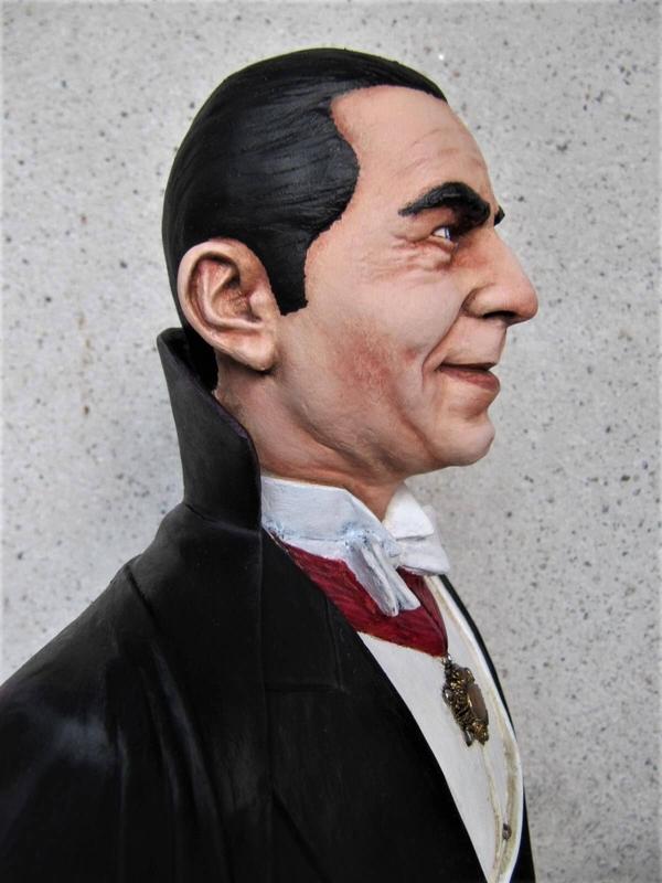 Buste Dracula Bela Lugosi.