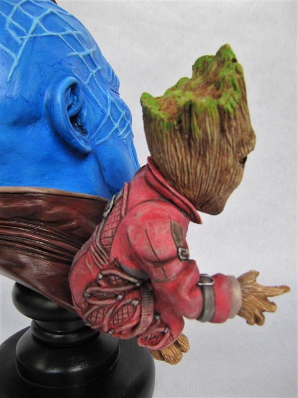 Yondu et Baby Groot