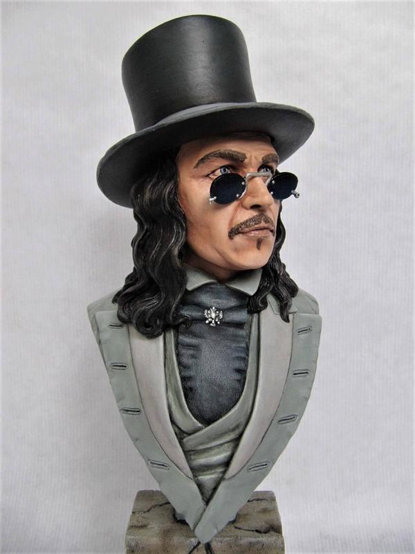 Buste Dracula Gentleman.