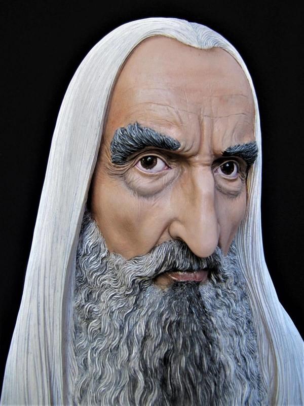 Buste Saruman 1/2.