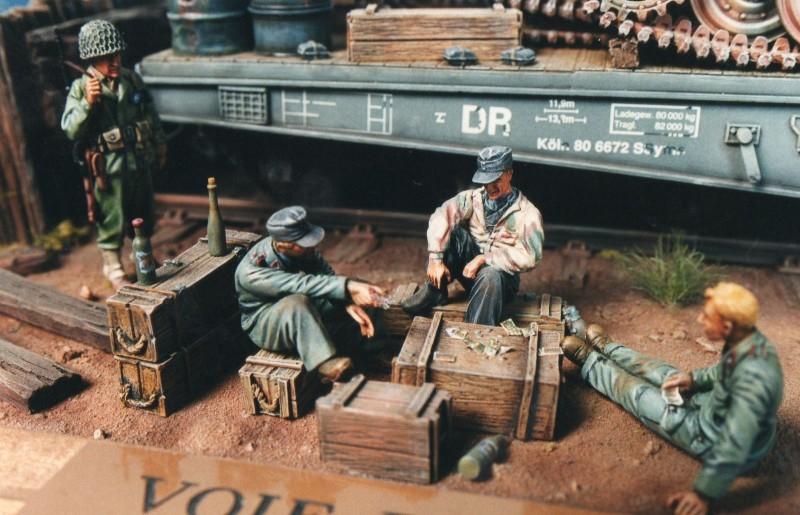 Voie de Garage:Avril 1945.