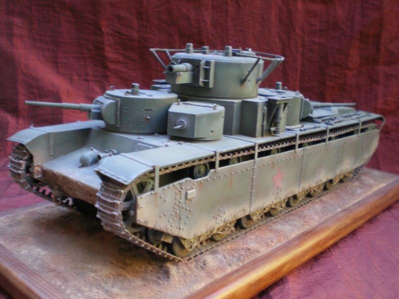 Heavy Tank T.35 1/35.