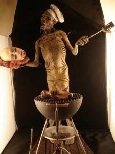 Cuisinier Zombie.