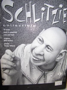 Model kit Schlitzie.