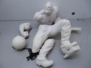 Statue Absorbing man 1/6.