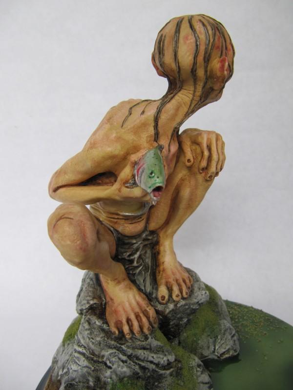 Statue Sméagol.