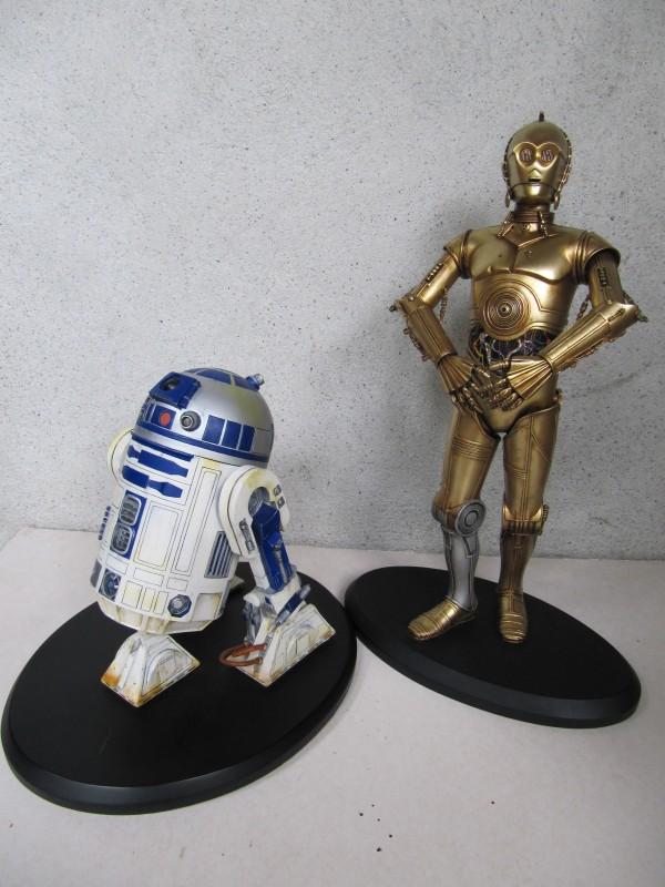 C3PO R2D2.