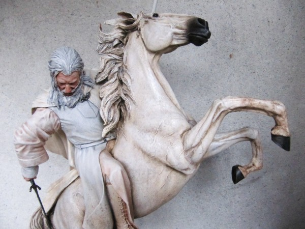 Gandalf sur Shadowfax.