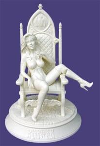 karnstein on chair
