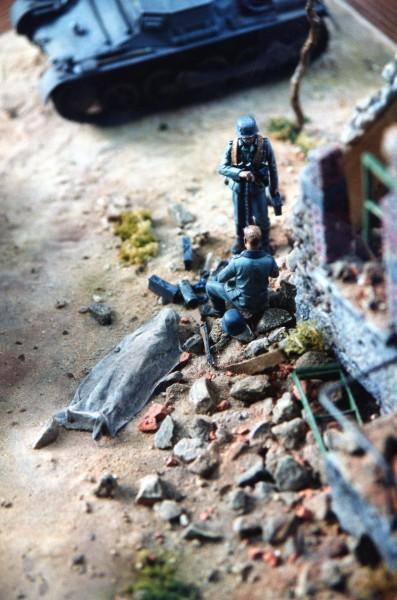 7ème Panzer Division à Hangest.
