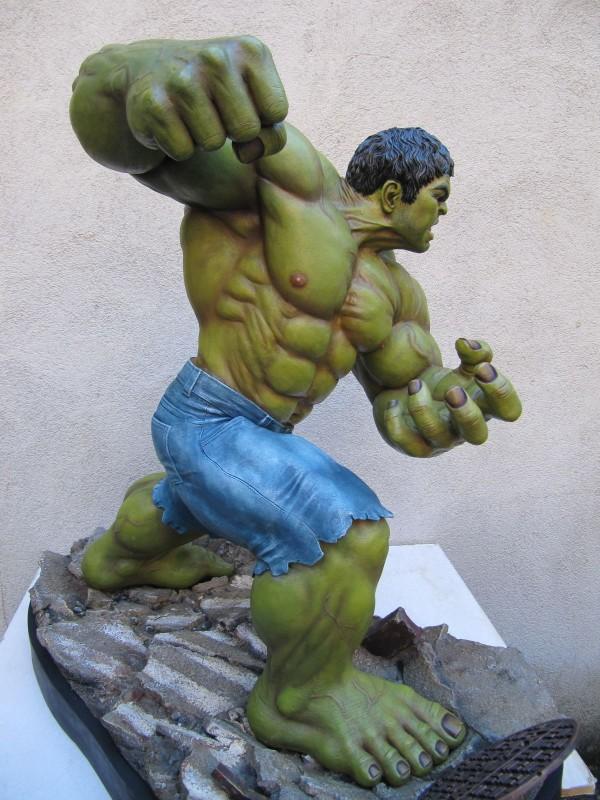 Hulk 1/4 repaint